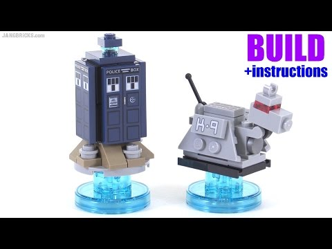 Build with me: LEGO Dimensions Doctor Who Tardis & K-9