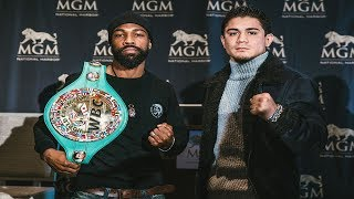 GARY RUSSELL VS. JOSEPH DIAZ - FULL WEIGH IN & FACE OFF VIDEO - LIVE