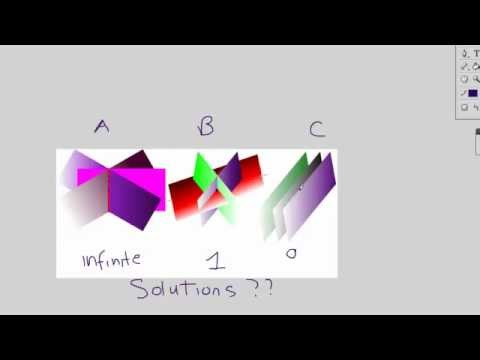 1) 3 Variable Linear Equations and Systems