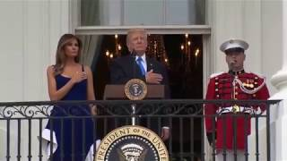 President Trump 4th of July full speech at White House