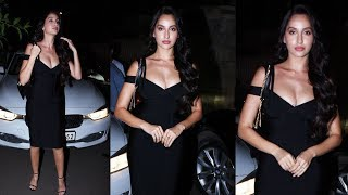 H0T Nora Fatehi At Marjaavaan Director Milap Zaveri's Birthday Party