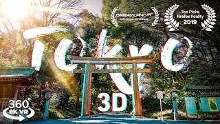 TRAVEL ✈️ Tokyo, Japan ⛩️ RELAX in 3D 360 Sights and Sounds VR Experience
