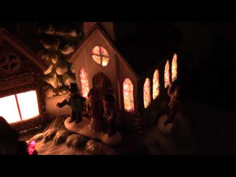 Tour of our house with Christmas decorations