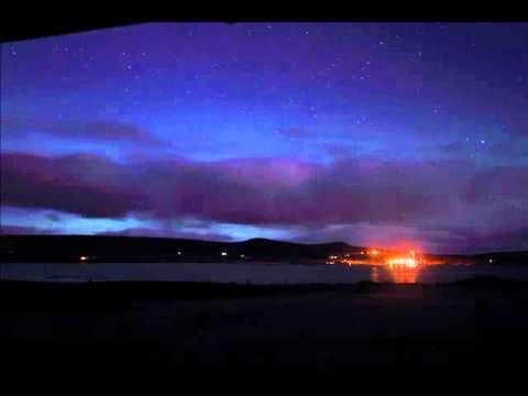 Aurora over Unst Shetland