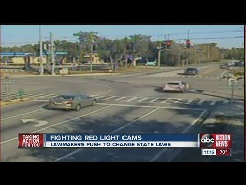Fight Over Red Light Cameras
