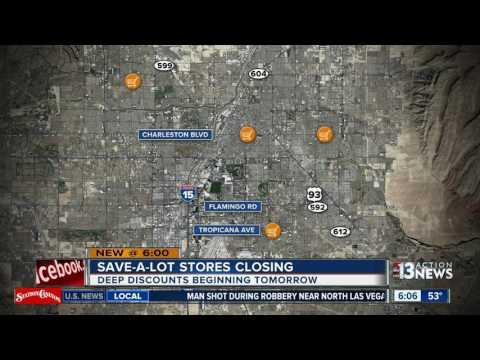 Save-A-Lot closing all Nevada, California stores