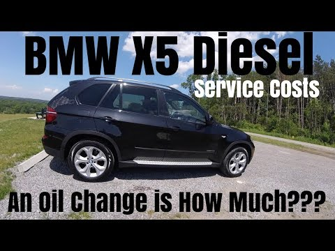 BMW X5 Diesel - An Oil Change Costs How Much ???