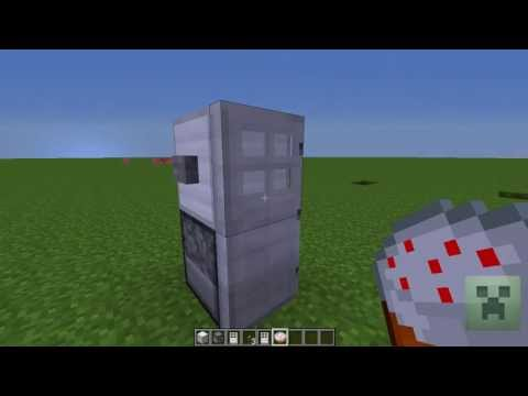 Minecraft: How to make a fridge that works