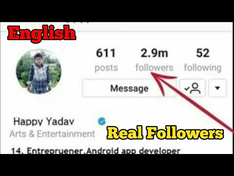 How to increase instagram real followers organically free without app 2018 website