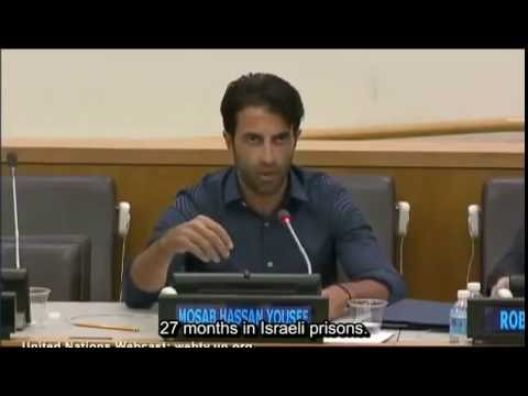 Mosab Hassan Yousef, the Green Prince speaks at UN (subtitled).