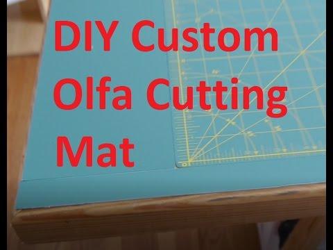 DIY Custom Sized Olfa Table Top Mat
