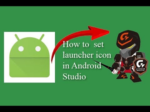 How to set launcher icon in Android Studio