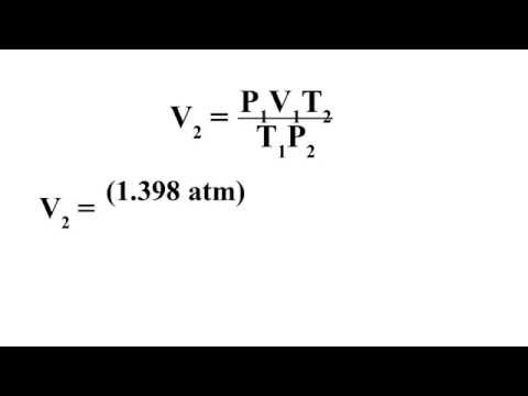 Combined Gas Laws & STP