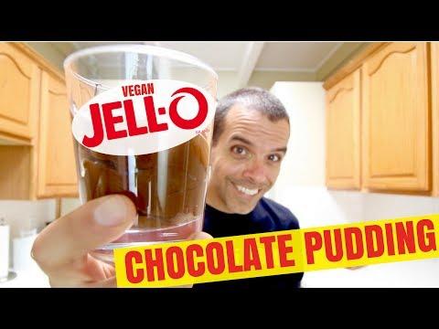 Easy to Make Vegan Jello Chocolate Pudding Recipe