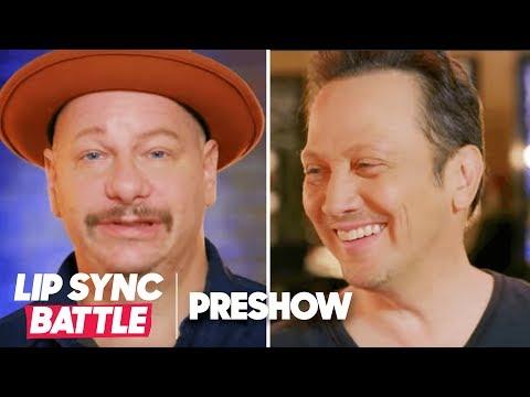 (EXPLICIT) Jeff Ross vs. Rob Schneider 🔥 Let the Roast Begin | Lip Sync Battle Preshow