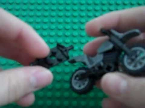 How to build a sidecar for a Lego motorcycle