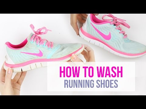 How to clean running shoes I Nike Free Run