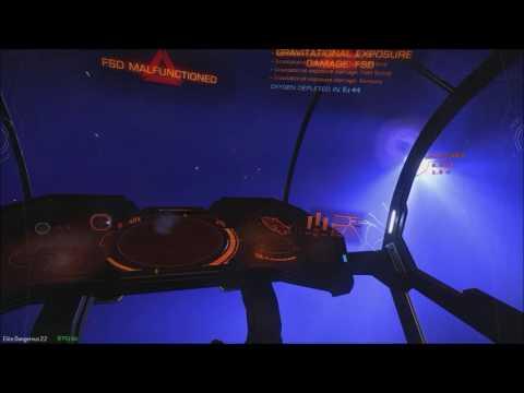 Elite Dangerous - Killed by a Neutron Star