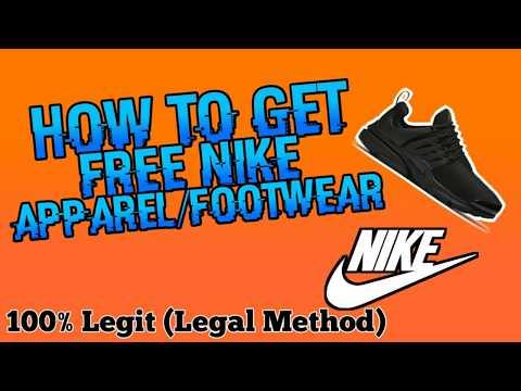 How To Get Free Nike Apparel/Footwear 100% Legal (MUST WATCH)
