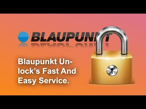 How To Find Your Blaupunkt Radio Code Using Your Serial No.