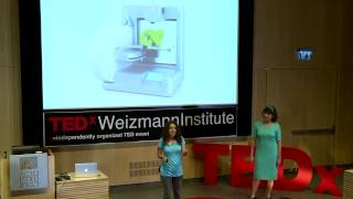 Robotics -- recipe for meaningful learning | Rachel Knoll & Rotem Stahl | TEDxWeizmannInstitute
