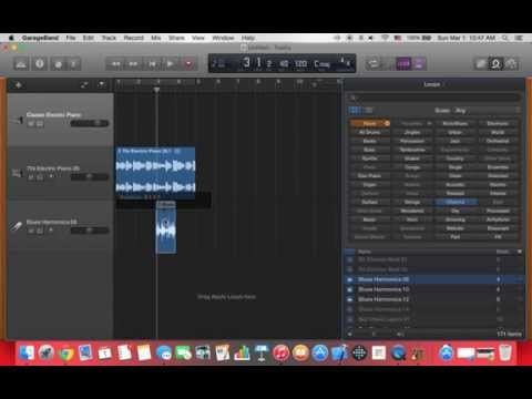 GarageBand Basic Tutorial/Loops (2015)