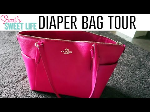 What's in My Coach Diaper Bag | Toddler Edition + Best Car Organization Hack!
