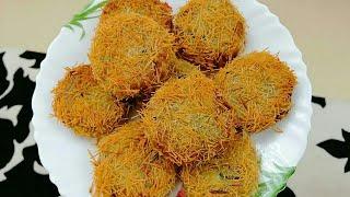 സേമിയ  വച്ചു  ഒരടിപൊളി  കട്ലറ്റ് /കിളിക്കൂട് /സേമിയ ചിക്കൻ  കട്ലറ്റ് - Vermicelli  Chicken Cutlet