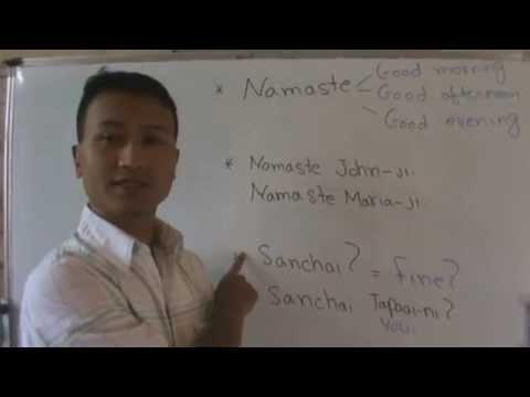 Learn Basic Nepali 1 - Greetings 1