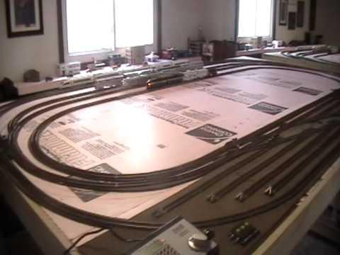 BA'S HO SCALE TRAIN LAYOUT 1
