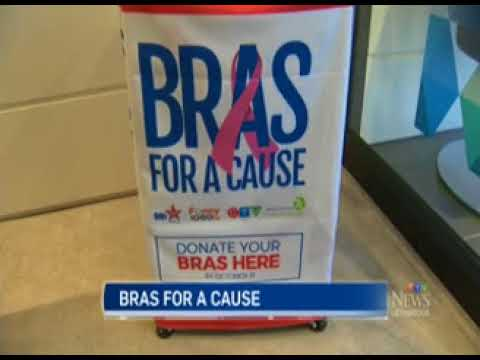 Bras for a Cause: CTV News at Noon