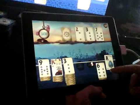 Solitaire Blitz video game demo with Evan