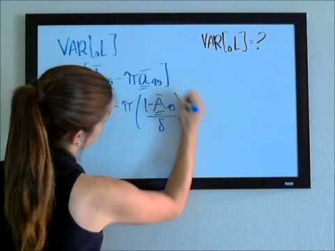 Variance of Loss Random Variable - Continuous - Part 1