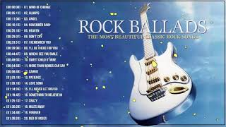 Best Rock Ballads 70's 80's 90's - The Greatest Rock Ballads Of All Time
