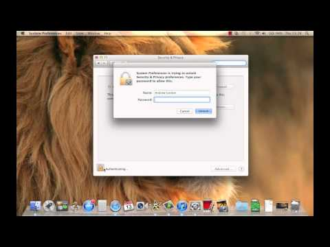 How to turn on mac security firewall
