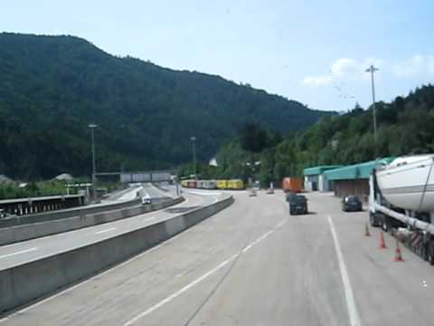 The Austrian Alps - travelling from Vienna to Venice