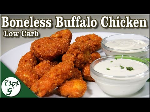 Low Carb Boneless Buffalo Chicken - Low Carb Hot Wings