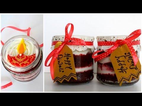 Red Velvet Cake Jar | Diwali Special | Eggless