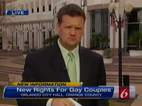 Domestic Partner Registry Begins in Orlando, Local 6