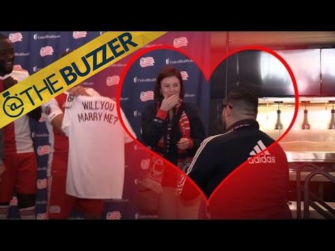 New England Revolution fans get engaged, Kai Kamara loves it | @TheBuzzer | FOX SPORTS