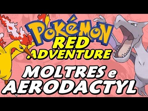 Pokémon Adventure Red Chapter (Detonado - Parte 18) - AERODACTYL e MOLTRES