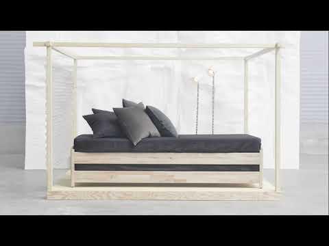 UTÅKER Stackable twin bed frames