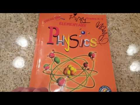 Focus on Elementary physics table of contents and review
