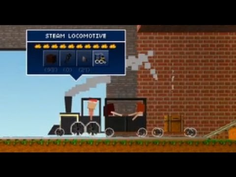 The Blockheads: Trains and Rail Handcars