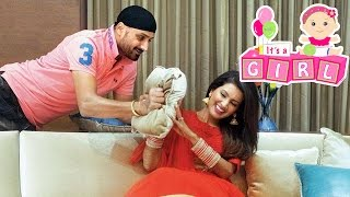 Geeta Basra, Harbhajan Singh Blessed With A Baby Girl