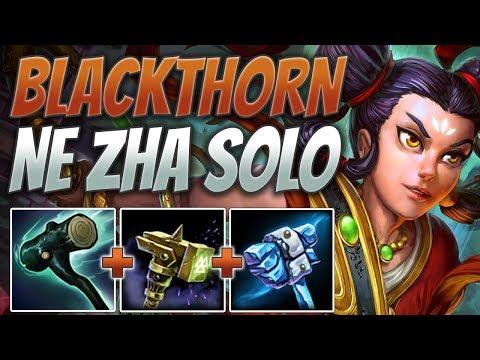Xxx Mp4 SMITE Ne Zha Solo Gameplay Blackthorn Hammer Needs A Nerf 3gp Sex