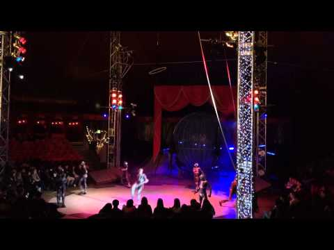 Winter Wonderland  Circus Hyde Park - Crew Dance