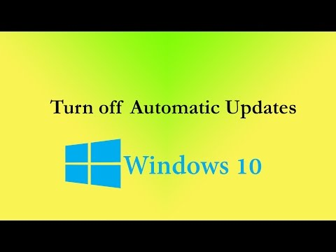 How to Turn off Automatic Updates in Windows 10, Disable Updates Permanently