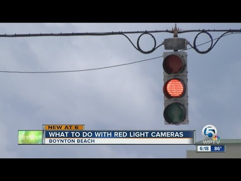 What to do with red light cameras