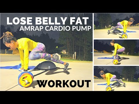 LOSE BELLY FAT WORKOUT: Cardio Pump (Full Length Workout)